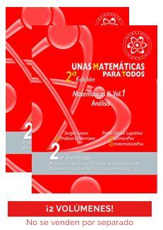 Unas matemáticas para todos vol 1 y 2. 2018/2019
