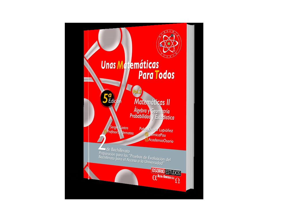 Libro Una Matemáticas Para Todos Vol. 2